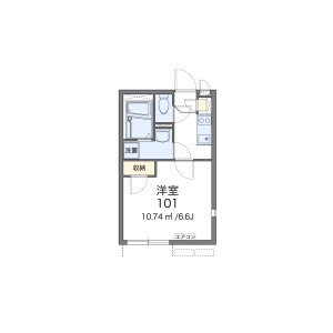 1K Apartment in Funabashi - Setagaya-ku Floorplan
