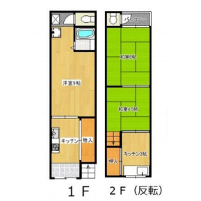 Whole Building {building type} in Isoji - Osaka-shi Minato-ku Floorplan