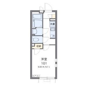 1K Apartment in Fukasawa - Setagaya-ku Floorplan