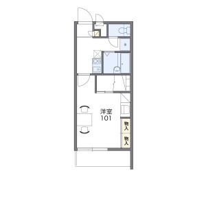 1K Mansion in Nago asahimachi - Suzuka-shi Floorplan