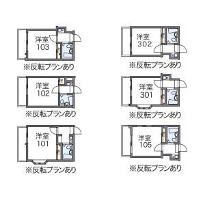 1K Apartment in Haruyoshi - Fukuoka-shi Chuo-ku Floorplan