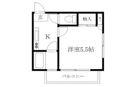 1K {building type} in Ikebukurohoncho - Toshima-ku