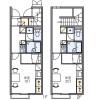 1K Apartment to Rent in Fuefuki-shi Floorplan