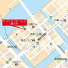 3LDK Apartment to Rent in Chuo-ku Map
