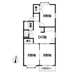 3DK Apartment in Nakashinjuku - Kashiwa-shi Floorplan