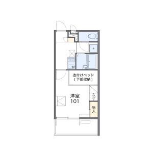 1K Mansion in Terajichohigashi - Sakai-shi Sakai-ku Floorplan