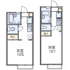 1K Apartment to Rent in Yokosuka-shi Floorplan