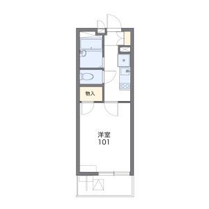 1K Mansion in Yako - Yokohama-shi Tsurumi-ku Floorplan