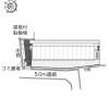 1K Apartment to Rent in Kyoto-shi Kita-ku Layout Drawing