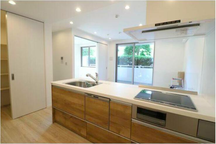 3LDK Apartment to Buy in Suginami-ku Kitchen