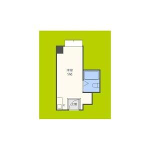 1R Mansion in Abenomotomachi - Osaka-shi Abeno-ku Floorplan