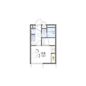 1K Apartment in Takaokamachi - Kanazawa-shi Floorplan