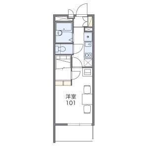 1K Mansion in Miyamaedaira - Kawasaki-shi Miyamae-ku Floorplan