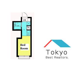 中野区大和町-1R公寓 楼层布局
