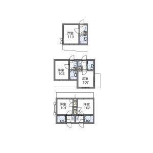 1K Mansion in Kamikitazawa - Setagaya-ku Floorplan