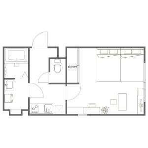1K Mansion in Oshiage - Sumida-ku Floorplan