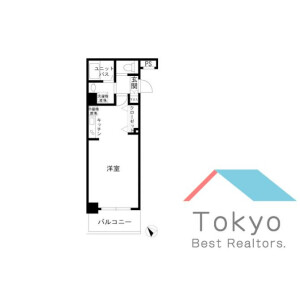 1R Mansion in Kandatacho - Chiyoda-ku Floorplan