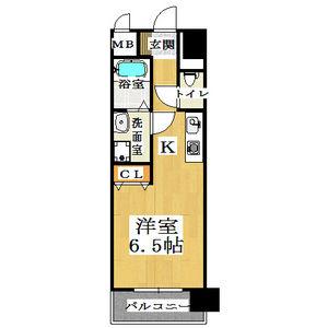 1R Mansion in Tamuracho - Kameyama-shi Floorplan