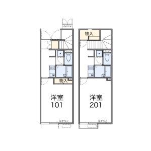 國分寺市東恋ケ窪-1K公寓 房間格局
