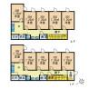Shared Guesthouse to Rent in Itabashi-ku Floorplan