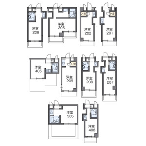 1K Mansion in Oyamacho - Itabashi-ku Floorplan