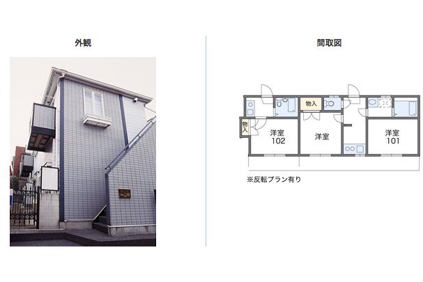 2K Apartment to Rent in Ota-ku Exterior