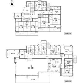 6LDK {building type} in Yawatano - Ito-shi Floorplan