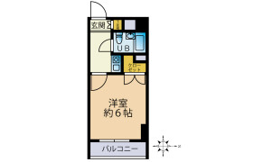 1K {building type} in Yagicho - Hachioji-shi