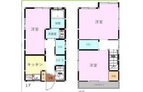 3K {building type} in Akabanedai - Kita-ku