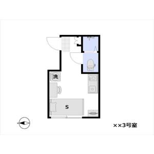 1R Mansion in Fukuzumi - Koto-ku Floorplan