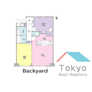 1SLDK Mansion in Nakano - Nakano-ku Floorplan