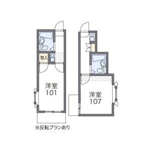1K Apartment in Tomihisacho - Shinjuku-ku Floorplan