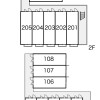 1K Apartment to Rent in Tsu-shi Layout Drawing