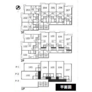 Whole Building {building type} in Shinonomecho - Otaru-shi Floorplan