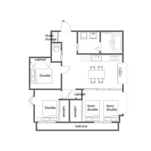 3LDK Mansion in Ebisu - Shibuya-ku Floorplan