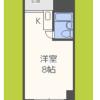 1R Apartment to Rent in Osaka-shi Chuo-ku Floorplan