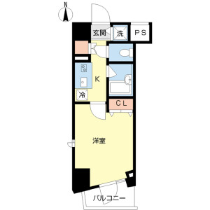 1K Mansion in Zoshigaya - Toshima-ku Floorplan