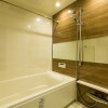1LDK Serviced Apartment to Rent in Osaka-shi Fukushima-ku Bathroom