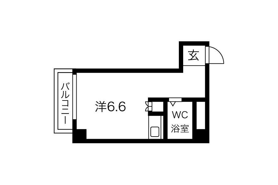 1R Apartment to Rent in Osaka-shi Nishiyodogawa-ku Interior