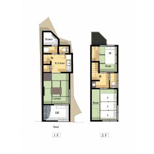2LDK House in Minowa - Taito-ku Floorplan