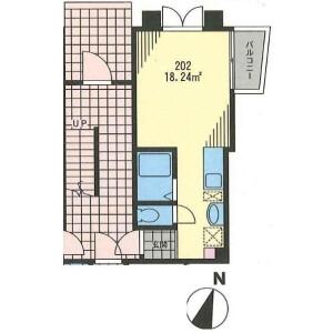 世田谷区 三宿 1R アパート バルコニー・ベランダ