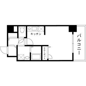 1R Mansion in Kandatacho - Chiyoda-ku Floorplan