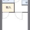 1K アパート 大阪市西成区 間取り