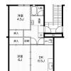 2DK Apartment to Rent in Inazawa-shi Floorplan