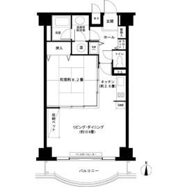 1LDK {building type} in Oishi - Minamitsuru-gun Fujikawaguchiko-machi Floorplan