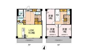 3LDK Mansion in Shimonumabe - Kawasaki-shi Nakahara-ku