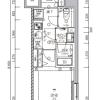 1K Apartment to Buy in Sumida-ku Floorplan