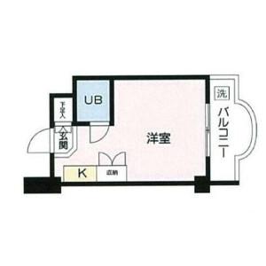 1R {building type} in Kitashinjuku - Shinjuku-ku Floorplan
