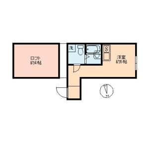 1R Mansion in Minamioi - Shinagawa-ku Floorplan