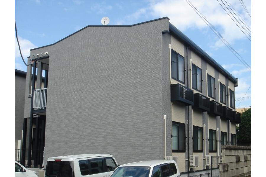 在松戸市内租赁1K 公寓 的 户外